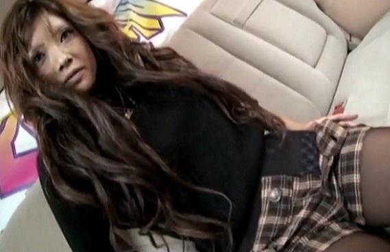 ザギャルナンゲット!19才の茶髪カリスマGALをナンパで連れ込み♡車の中でハメ撮りまでさせてくれた!!