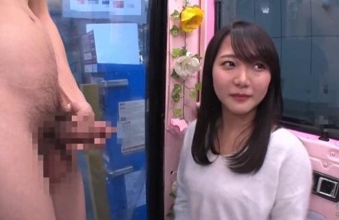 マジックミラー便!激カワ女子大生が初めてのイラマチオに挑戦!おマ●コぐっしょりの本番SEXで顔射される♡